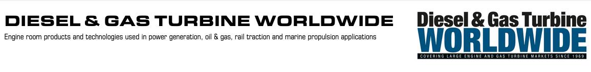 Diesel and Gas Turbine Worldwide Logo
