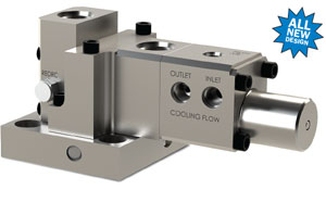 All-New Design for JASC's Water-Cooled Three-Way Purge Valve
