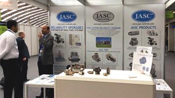 JASC trade show booth