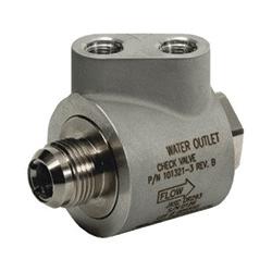 JASC's Water Cooled Liquid Fuel Check Valve