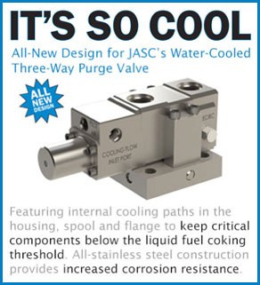 New Design for JASC's Water-Cooled Three-Way Purge Valve