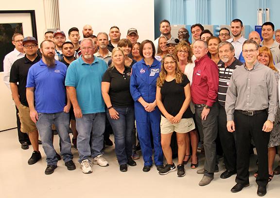 JASC and Astronaut Megan McArthur