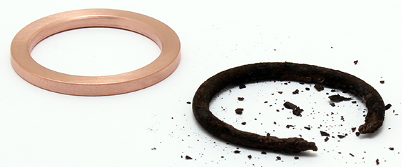 JASC's Copper Crush Gaskets