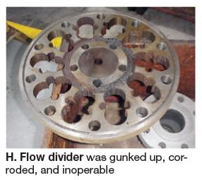 Gunked-up-flow-divider