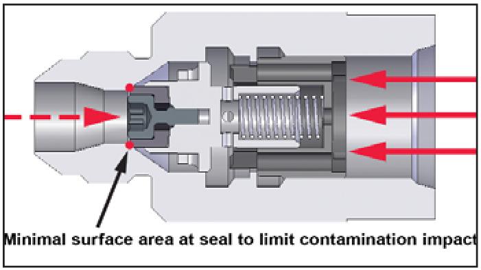 Purge air check valve